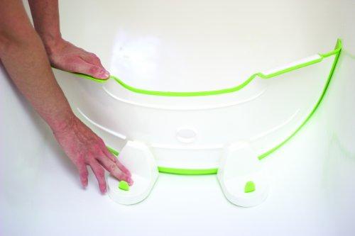 Vasca Da Bagno Divisorio : Babydam riduttore per vasca da bagno bianco weiss grün amazon
