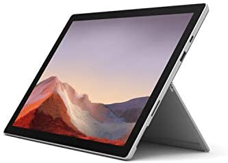 "New Microsoft Surface Pro 7 – 12.3"" Touch-Screen - Intel Core i3-4GB Memory - 128GB Solid State Drive (Latest Model) – Platinum, VDH-00001"
