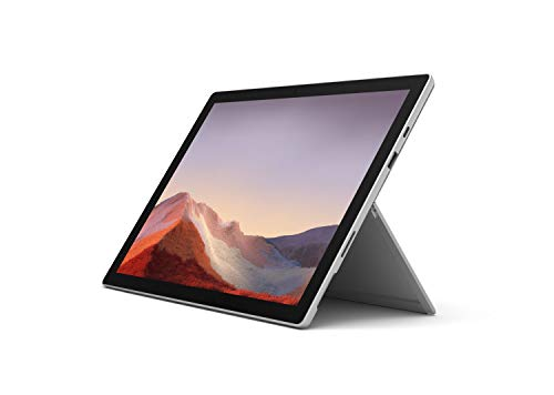 """New Microsoft Surface Pro 7 – 12.3"""" Touch-Screen - Intel Core i3-4GB Memory - 128GB Solid State Drive (Latest Model) – Platinum, VDH-00001"""