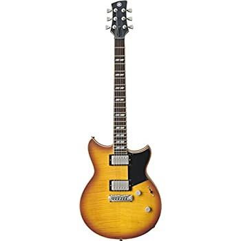 Yamaha RevStar RS620 Electric Guitar with Gig Bag, Brick Burst