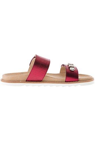 Ulla Popken Women's Plus Size Mule 710216 Red TDJj0noY
