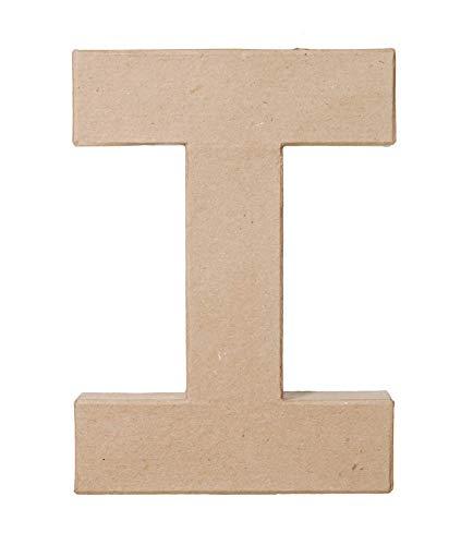 Darice Paper Mache Letter 8quot X51/2Letter I 2862I