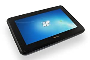 "8.9"" Windows 7 Tablet PC - 1.66GHz Intel ATOM N450 - 64GB Solid State HDD - 2GB DDR2 SDRAM - WIFI - Bluetooth - 1.3MP Webcam - VGA/LAN Port - SD Card Slot - Multi-Touch LCD with Stylus"