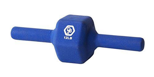 DUMBBELL2 (DB2) NEOPRENE BLUE 12 LBS