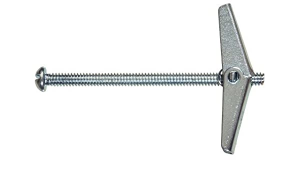 The Hillman Group 372518 Mini Toggle Bolt 8-Pack by The Hillman Group 3//8 X 4-Inch