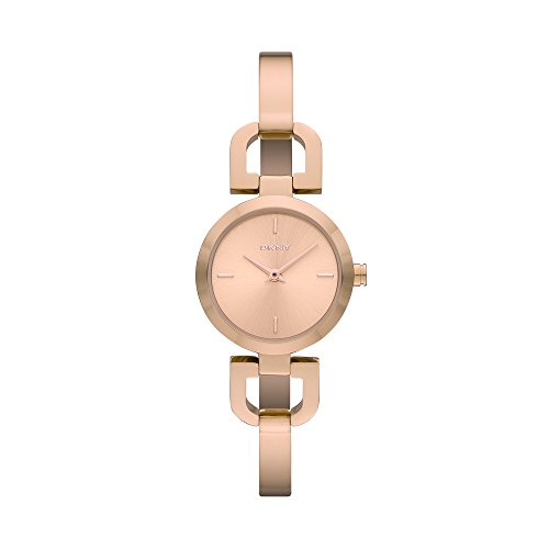 DKNY Women's NY8542 READE Rose Gold-Tone Stainless Steel Watch