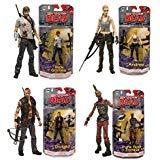walking dead chopper - McFarlane Toys The Walking Dead Comic Book Series 3 Set of 4 Action Figures: Rick Grimes / Andrea / Dwight / Punk Rock Zombie