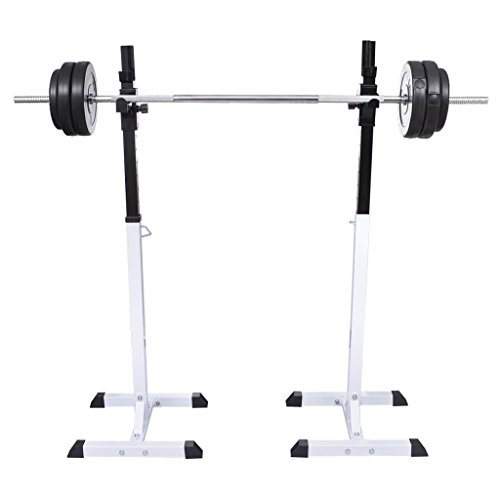 Daonanba Squat Barbell Rack Set Healthy Sports Tools Exercise & Fitness Home Training Mashine by Daonanba