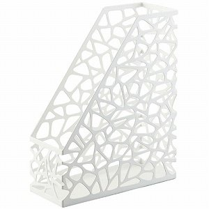 Nest - White Metal File Holder 10