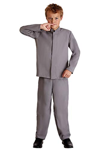 Kids Mini Grey Suit Costume X-Large