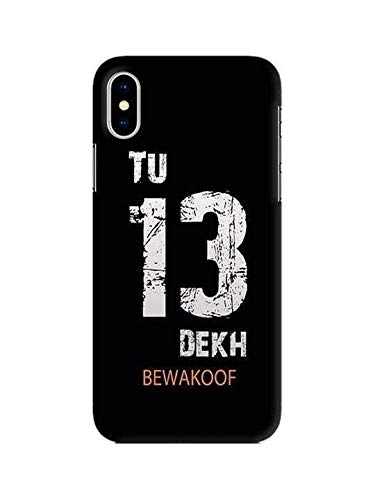 wholesale dealer d2e36 06a49 Tu 13 Dekh Bewakoof Pinted Mobile Case for Apple iPhone: Amazon.in ...