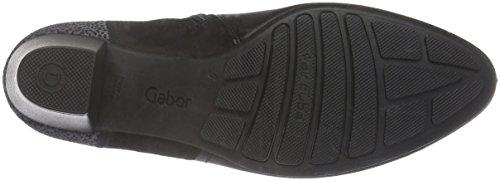 Donna Basic Gabor Comfort 27 Nero Stivaletti Micro schwarz Awq7wft