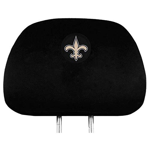 monogram headrest covers - 2
