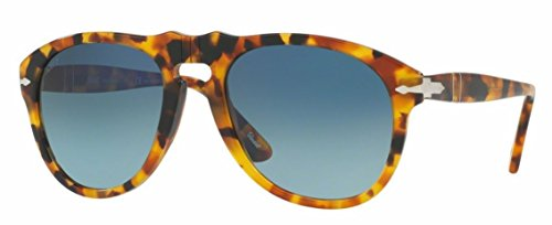 Persol PO0649 Sunglasses-1052S3 Madreterra (Blue Gradient Polarized - Persol Polarized Lenses