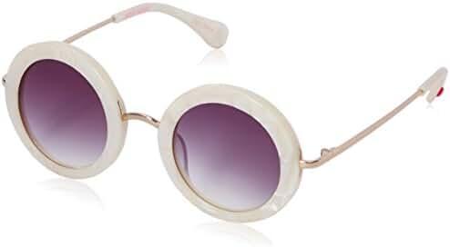 Betsey Johnson Women's Julia Round Sunglasses