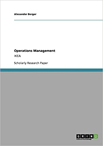 operations management research papers