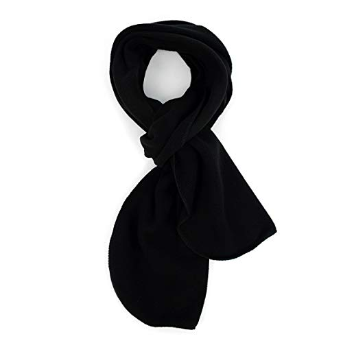 (Solid Color Fleece Unisex Winter Scarf)