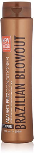 Brazilian Blowout Acai Anti Frizz Conditioner, 12 Fl Oz (The Best Brazilian Hair)
