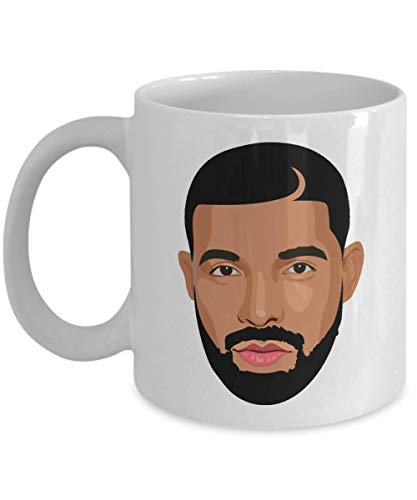 Drizzy Drake Feelings Cartoon Head OVO Champagne Papi Coffee Mug Cup Gift 11oz Ceramic Mug