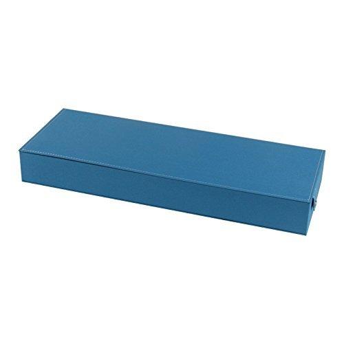 Ducomi Elton - Organizzatore per Occhiali con 8 Scomparti per Occhiali da Sole e da Vista - Espositore Porta Occhiali - Dimensioni: 48 x 18 x 6 cm (Light Blue) XTyC5OnA
