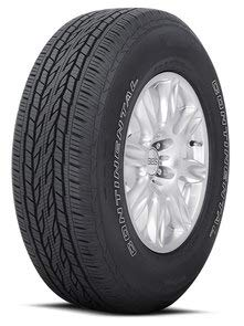 Continental CrossContact LX20 Radial Tire - 225/65R17 102T SL (Best Tires For Honda Accord Crosstour)