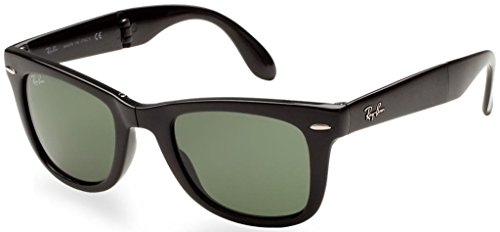 Ray Ban RB4105 601/58 50mm Black/Polarized Folding Wayfarer Bundle-2 - Polarized Folding Wayfarer Rb4105 50