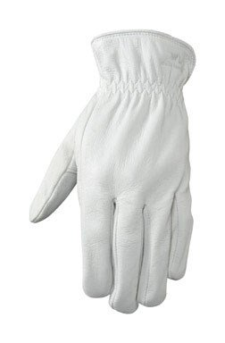Wells Lamont Driver Glove Leather Extra Large Elasticized