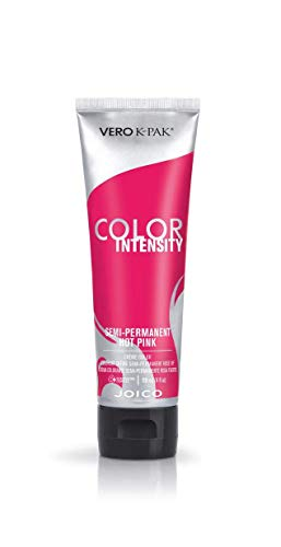 Joico Intensity Semi-Permanent Hair Color, Hot Pink, 4 Ounce (Best Semi Permanent Pink Hair Dye)