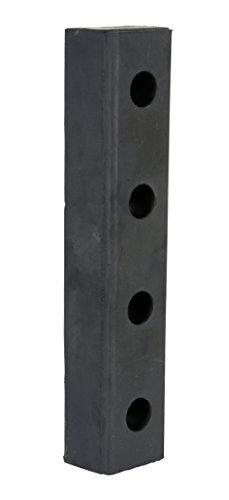 Vestil Hardened Molded Rubber Bumper One 20 In