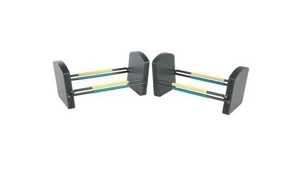 Fitness Mad PowerBlock - Mancuernas ajustables (fase 2 para conjunto de mancuernas U90, 23 - 32 Kg) Talla:23-33kgs: Amazon.es: Deportes y aire libre