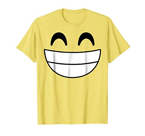 Halloween Emojis Costume Shirt Cheerful Laughing Boys -