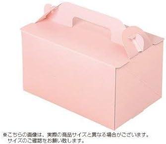 パッケージ中澤 ケーキ箱 105OPL-ピーチ 3.5×5