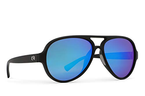 Rheos Palmettos Aviator Floating Polarized Sunglasses | 100% UV Protection | Floatable Shades | Ideal for Fishing and Boating | Anti-Glare | Unisex | Gunmetal | Deep ()