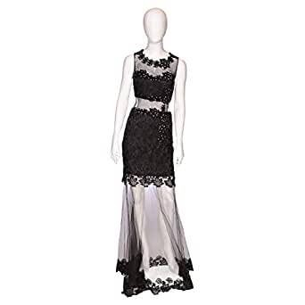 Dekelte Black Mixed Special Occasion Dress For Women