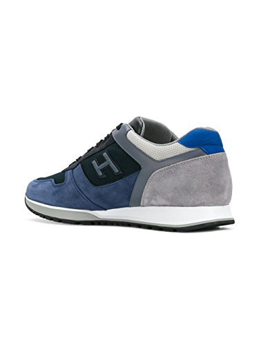 Hogan Sneakers Uomo HXM3210Y861I7J785K Camoscio Blu
