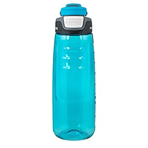 Powerade Chug Water Bottle, Cyan, 32 oz
