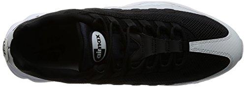 Nike Herren Air Max 95 Ultra Essential Gymnastikschuhe Schwarz (Black/White/Pure Platinum)