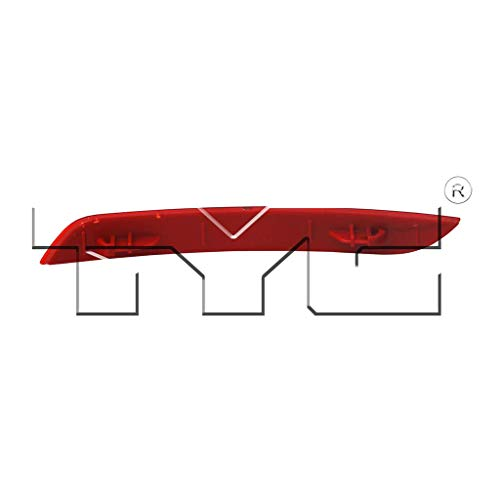 Replaces 63 14 7 301 187 63 14 7 301 188 ;F30; for Sedan Fits 2012-2015 BMW 328i Pair Driver and Passenger Side Rear Bumper Reflector With Bulbs Included BM1184100 BM1185100