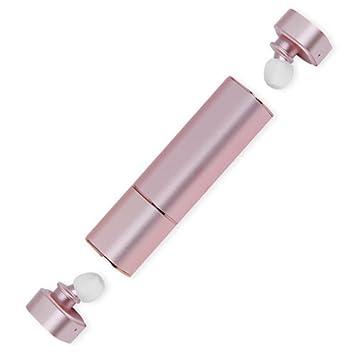 Mini Auriculares Inalámbrico,MindKoo TWS Estilo de Lápiz Labial Cascos Bluetooth 4.1 HIFI Modo de