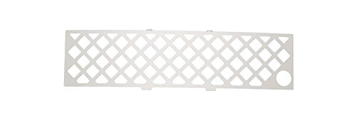 Putco 82182FP Stainless Steel Diamond Design Grille Insert with Heater Plug Opening for Ford EcoBoost -
