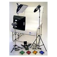 Life Still Table - JTL TL 480 Still Life Photo Table Kit with Table, Monolights & Softboxes & Light Stands.