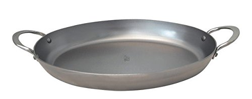 de Buyer 5651.36 Iron Oval Roasting Pan