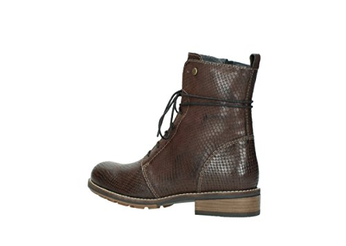 cognac leather Stivali 30430 4432 Murray donna Wolky q8Hfaf