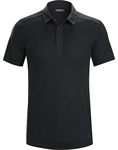 Arc'teryx A2B SS Polo Men's (Black, Large)