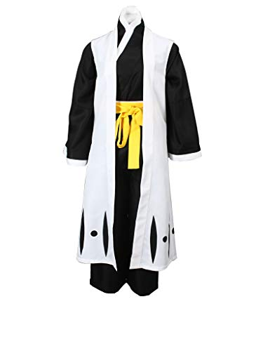 Mtxc Women's Bleach Cosplay Soi Fon 4th Squad Two Captain Uniform Simplify Ver
