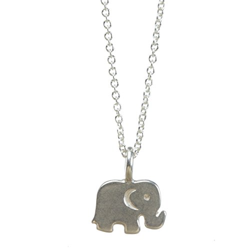 Dogeared Sister In Law Elephant Reminder Boxed 16''-18'' Necklace (sterling-silver) by Dogeared (Image #1)