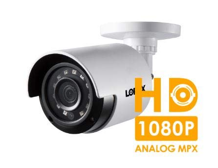 - Lorex LBV2531U 1080p Analog HD MPX Weatherproof Bullet Security Camera with 130' Night Vision