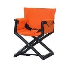 Trona de viaje naranja director de cine de CasualPlay Dire