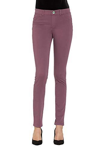 491 992al Burdeos Carrera Mujer Jeans Vaquero 00767u nSwPHXO