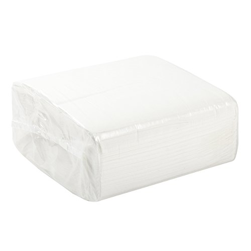 AmerCare 16.5'' x 16.5'' White 3-Ply Dinner Napkins, Case of 2000 by AmerCare (Image #2)